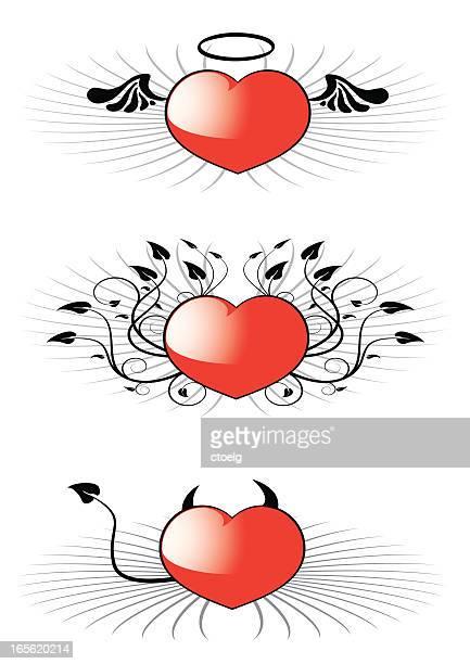 Corações de Anjo e Devil