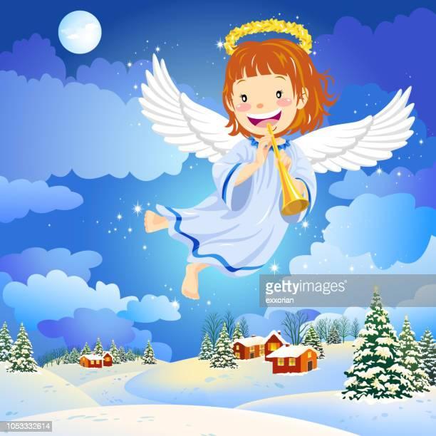 天使飛行冬の村
