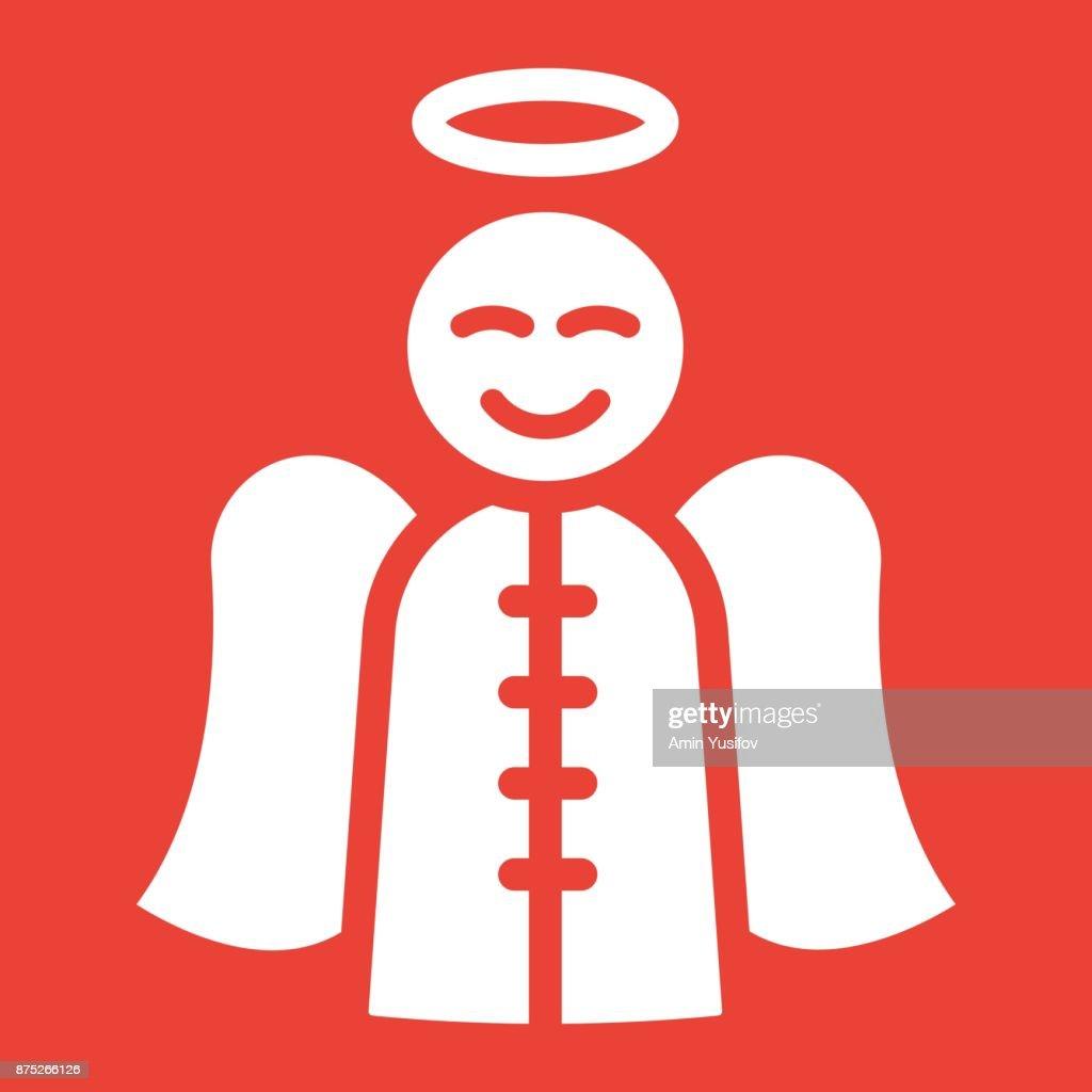 Engelsymbolsymbol Neujahr Und Weihnachten Vektorgrafiken Xmas ...