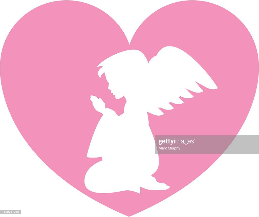 Angel Heart : stock illustration