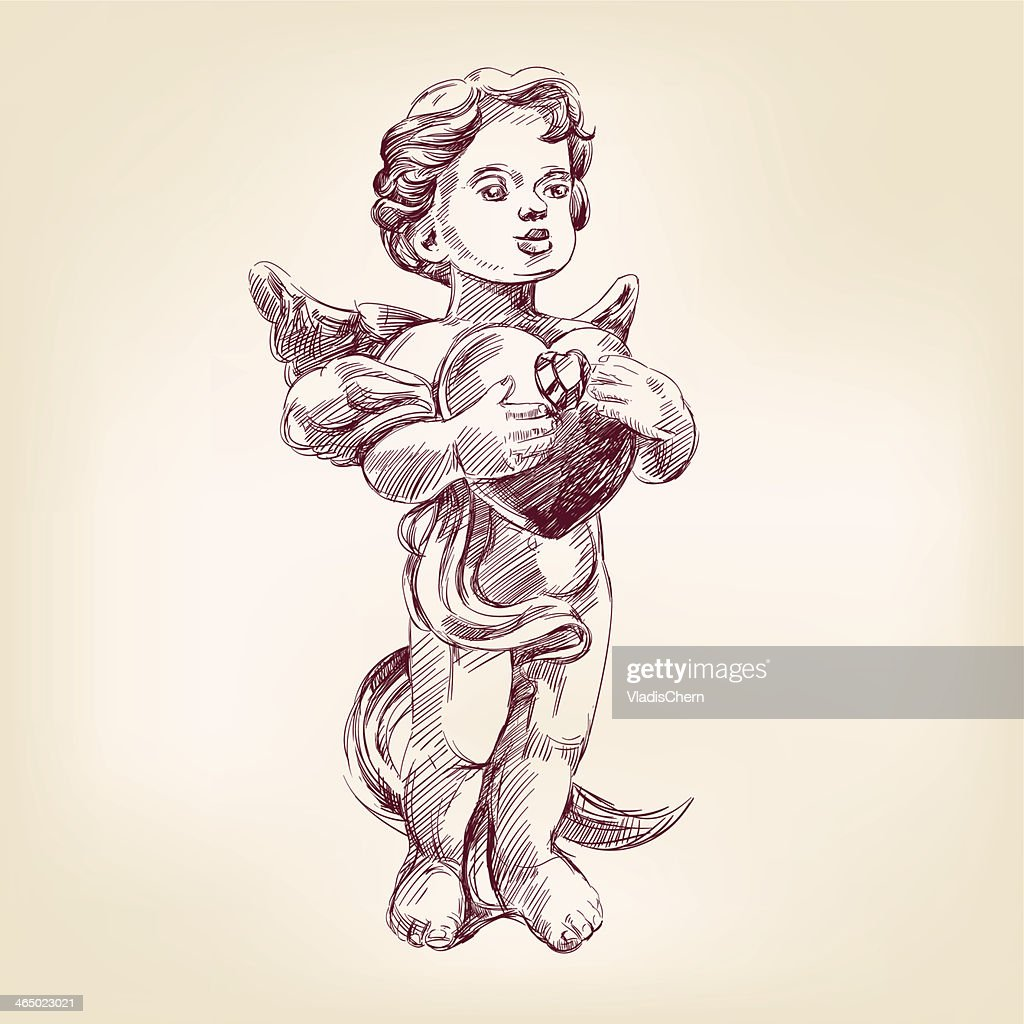 angel or cupid vector llustration