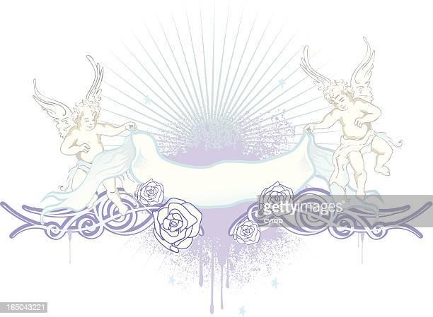angels emblema azul y blanco