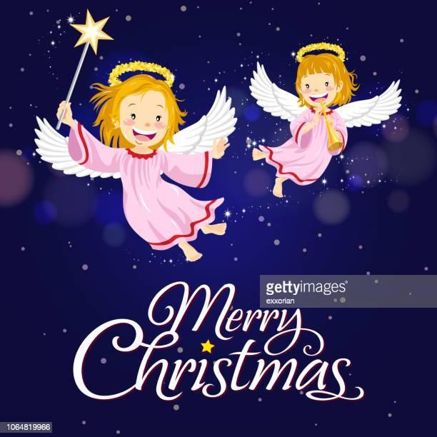 クリスマスの天使を高架道路