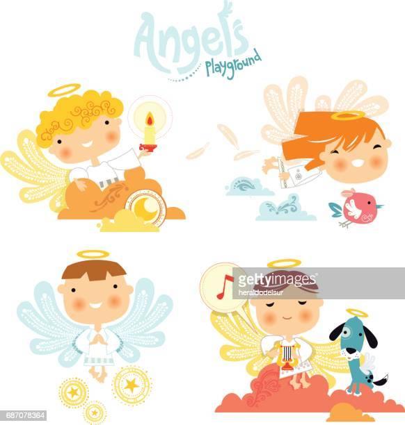 Aire de jeu de l'ange