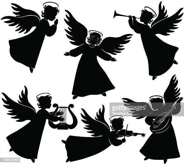Angels Silhouetten
