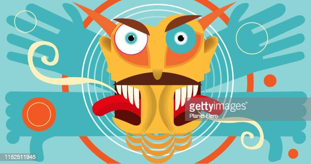anger management - infamous stock illustrations, clip art, cartoons, & icons