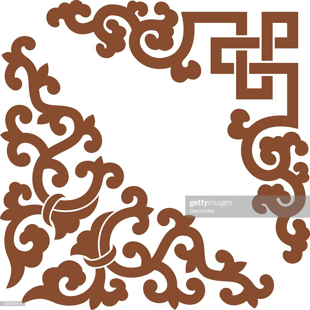 Angle Decoration of Chinese style