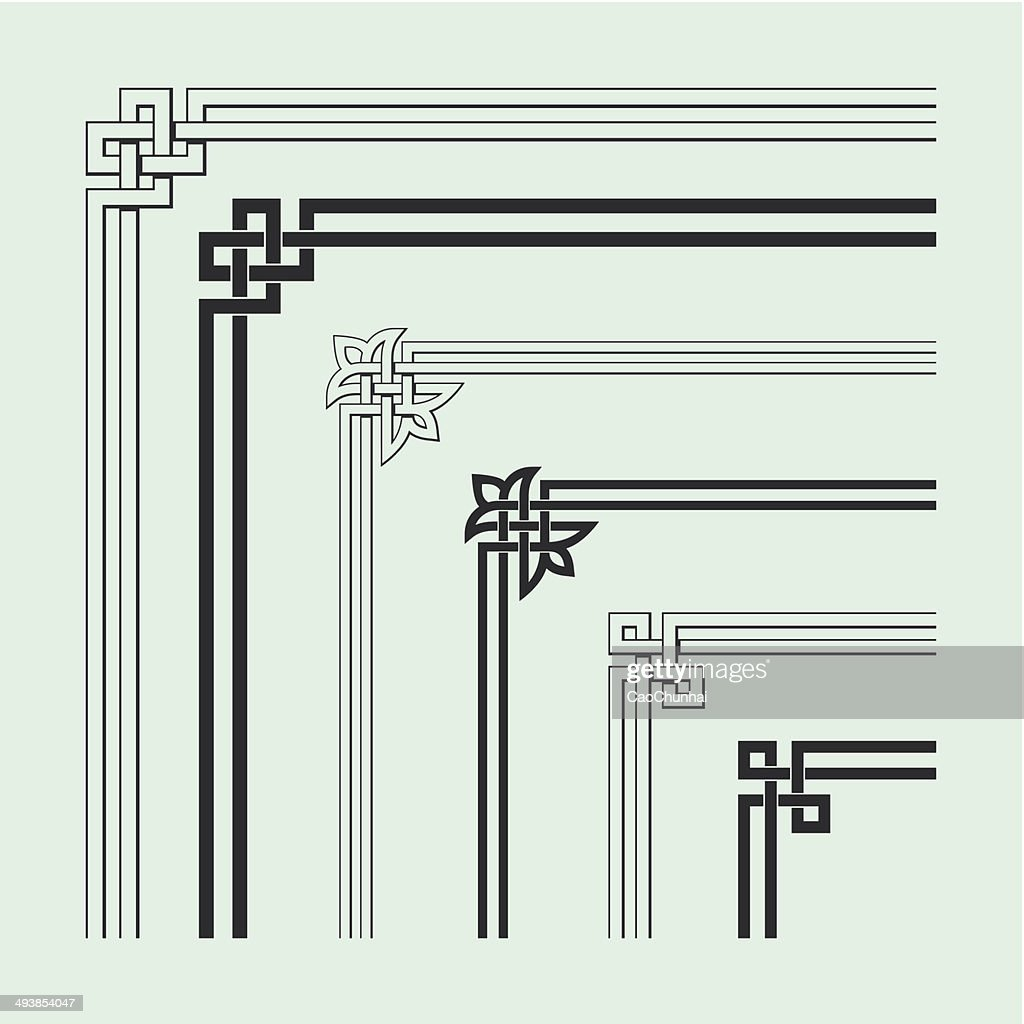 Angle Decoration of Chinese traditional style