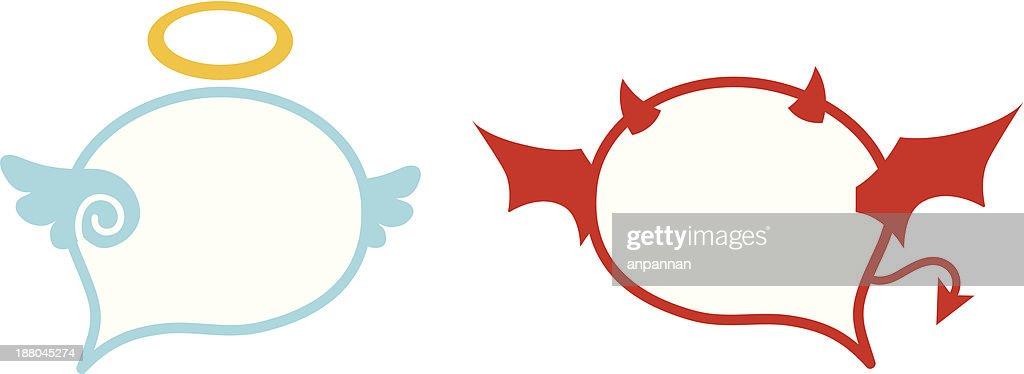 Angle - Devil Speech Balloon
