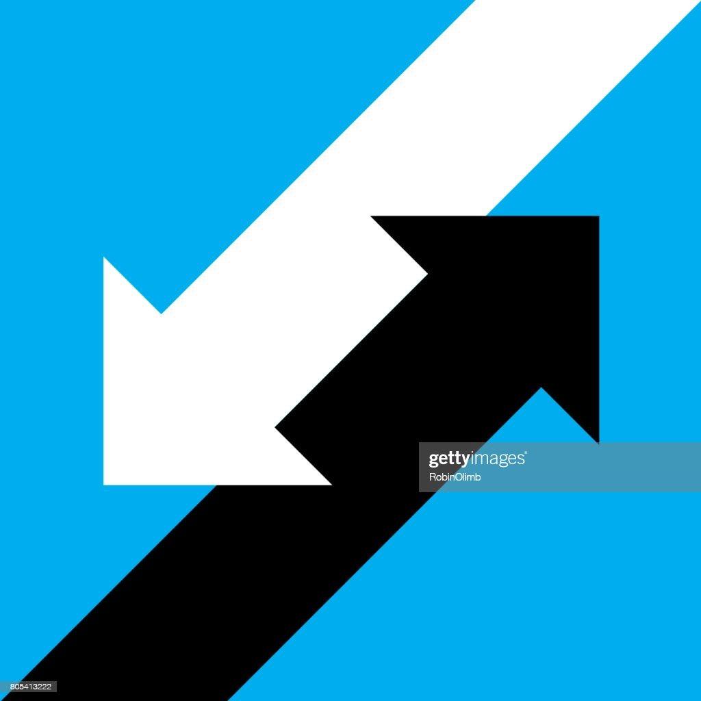Angled Arrow Icon