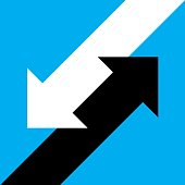 Angled Arrow Icon