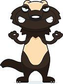 Angry Cartoon Wolverine