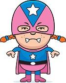 Angry Child Superhero