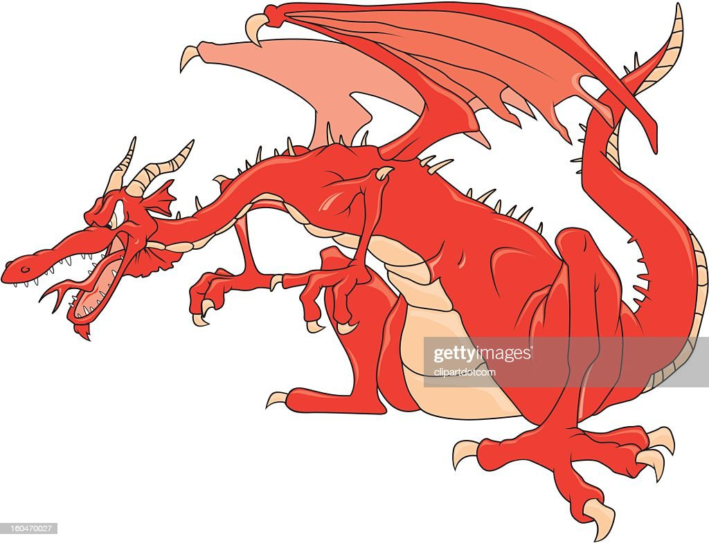 angry dragon vector art getty images