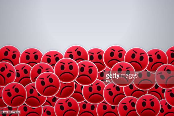 angry people faces - furious stock illustrations