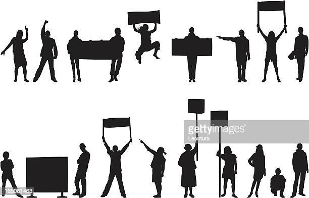 Angry Protestors