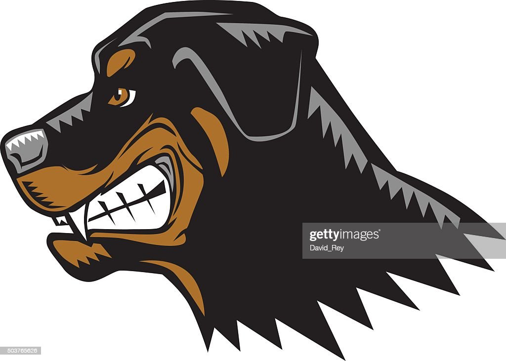 Angry Rottweiler Cartoon
