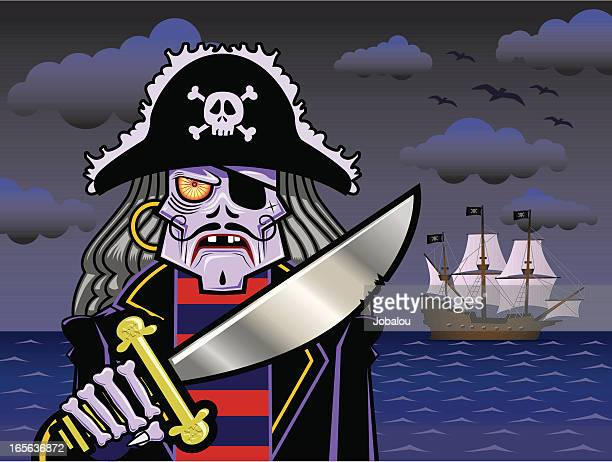 Angry Spooky Pirate