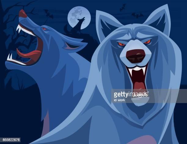 enojado lobos locos