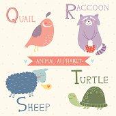 Animal Alphabet. Part 5
