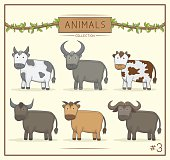 Animal cute collection set 3