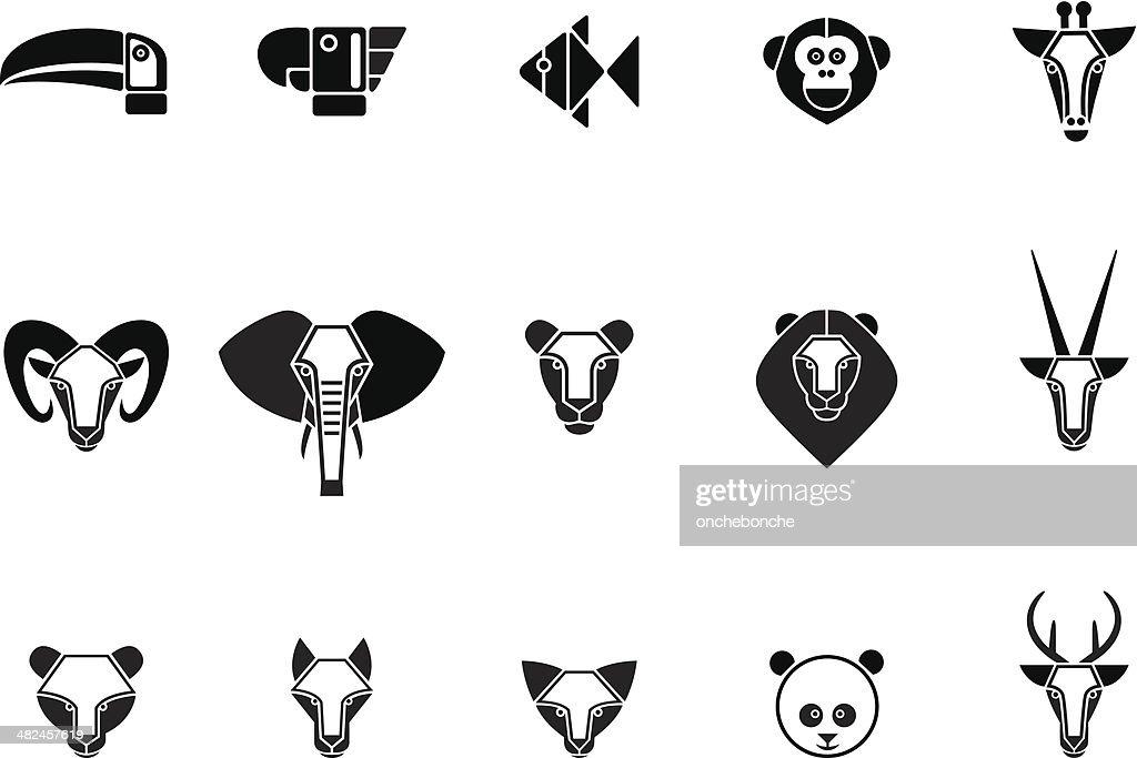 Animal set of icons