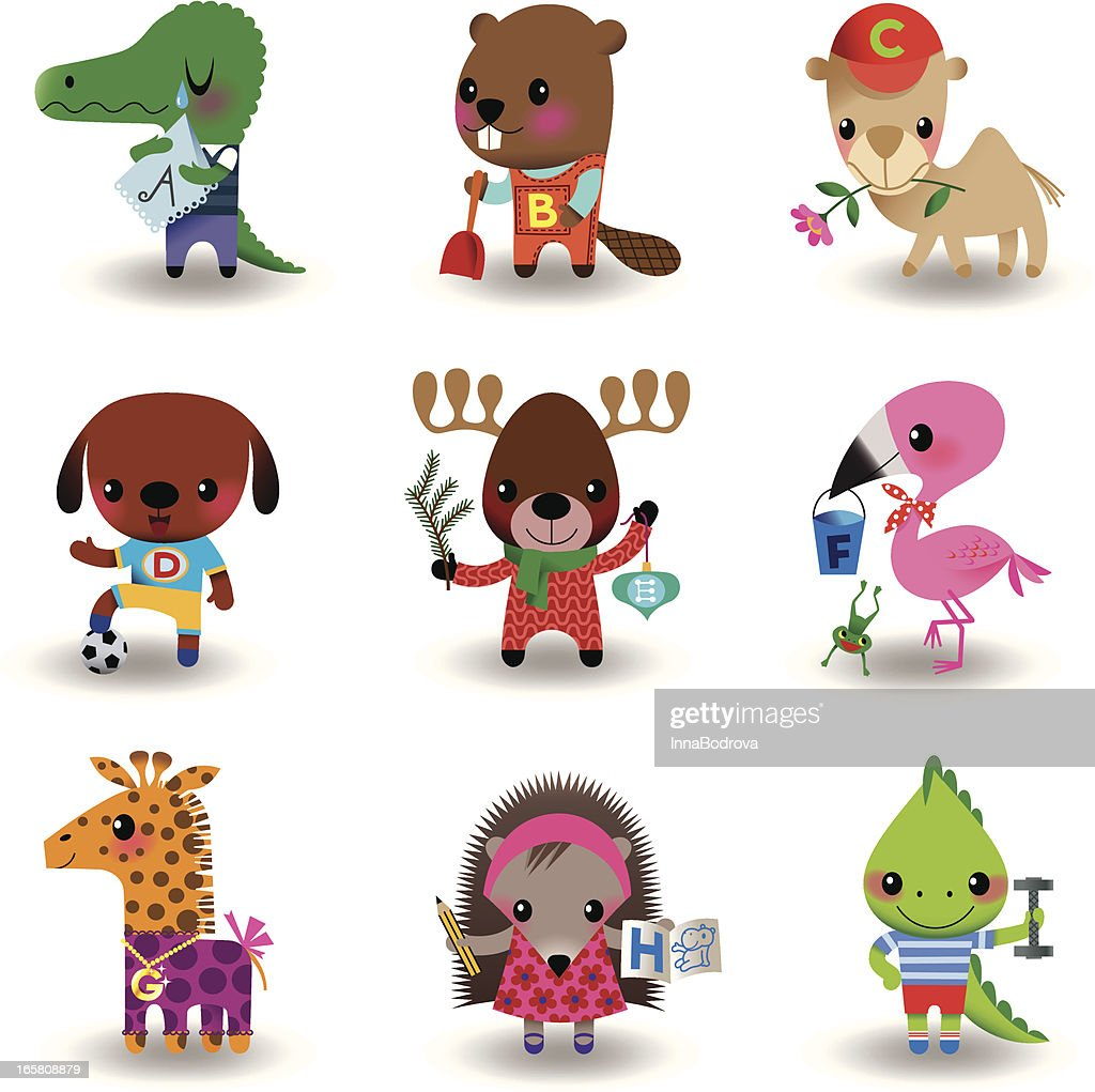 Animal Set : stock illustration