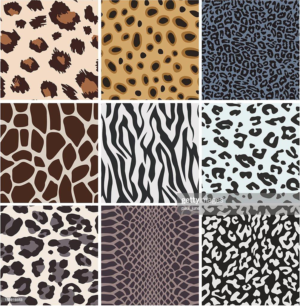 animal skin pattern design