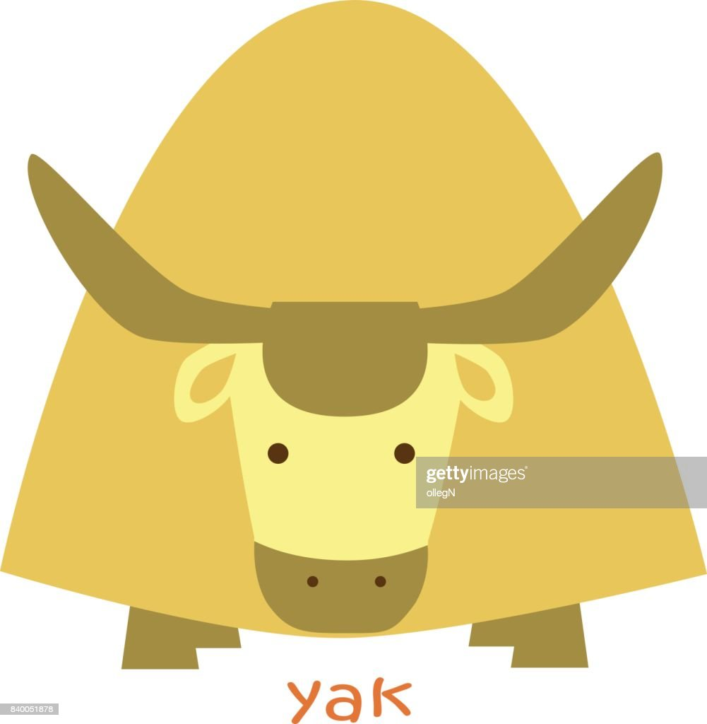 animals set - yak