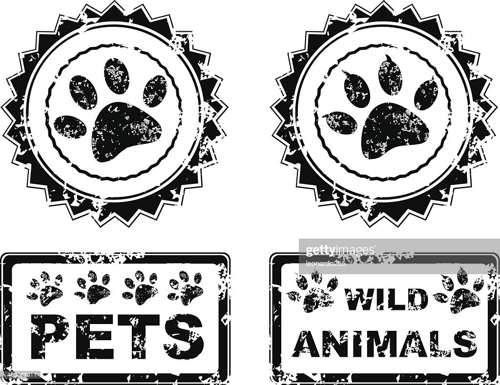 animals stamp