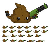 Animated Turd Sprites
