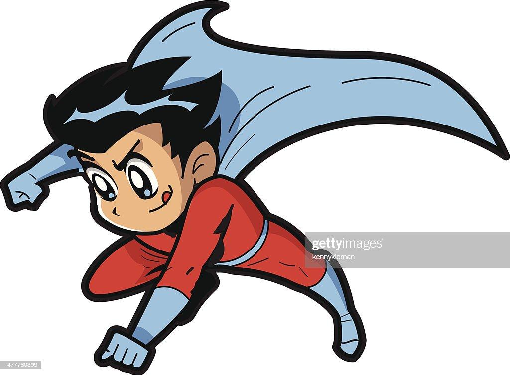 Anime Manga Boy Superhero