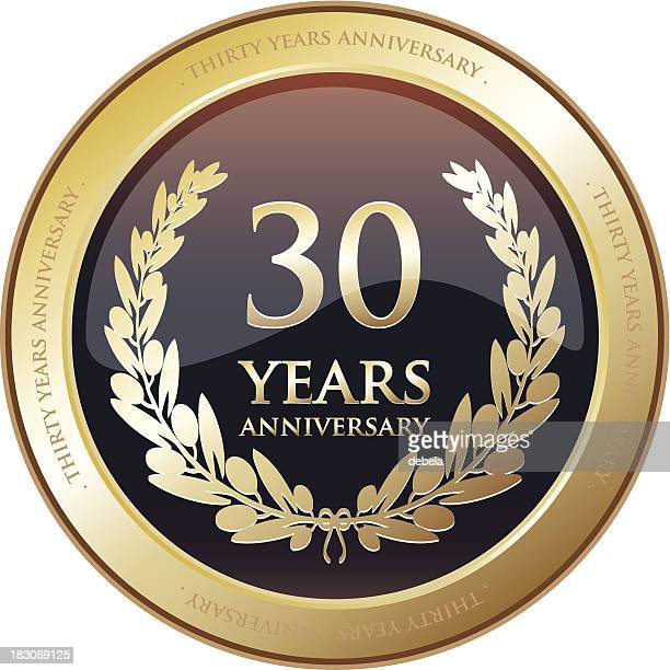 Anniversary Award - Thirty Years