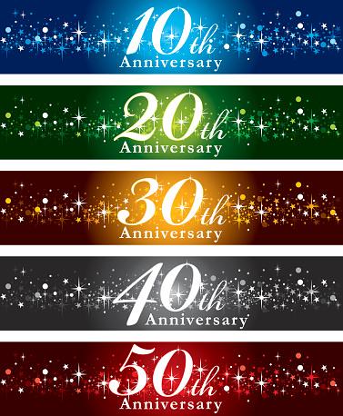 Anniversary Banners - gettyimageskorea
