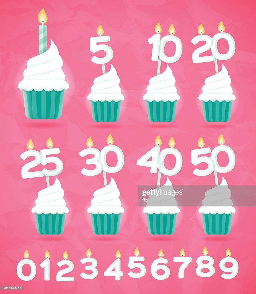 結婚記念日やお誕生日ケーキ : ストックイラストレーション