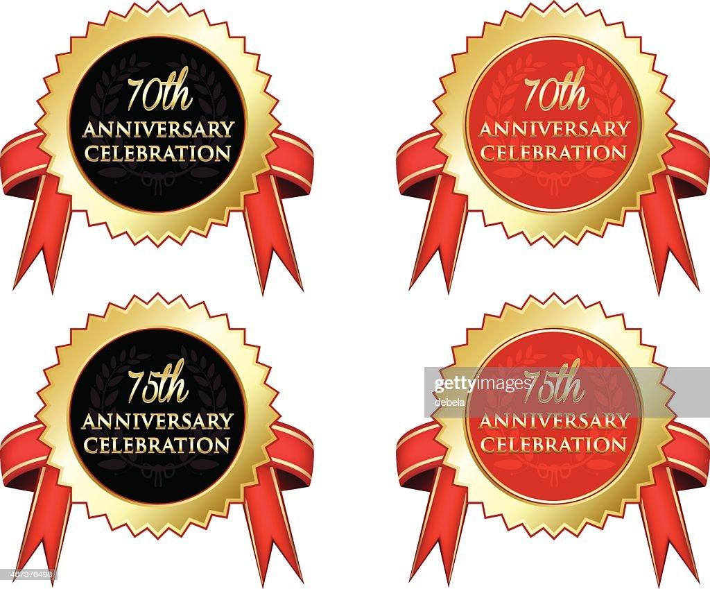 Anniversary Celebration : stock illustration