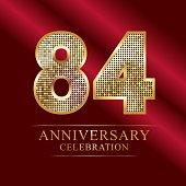 84 Anniversary Disco Style