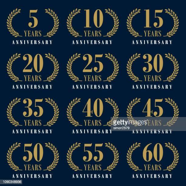 Anniversary Emblem Set