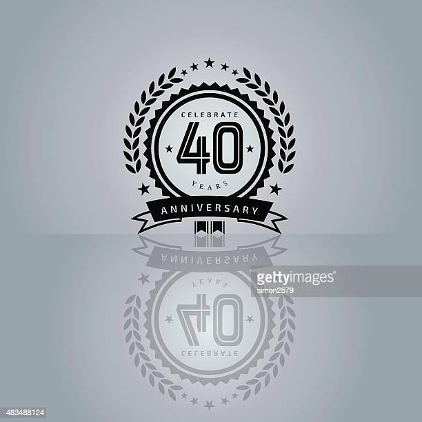 Anniversary emblem