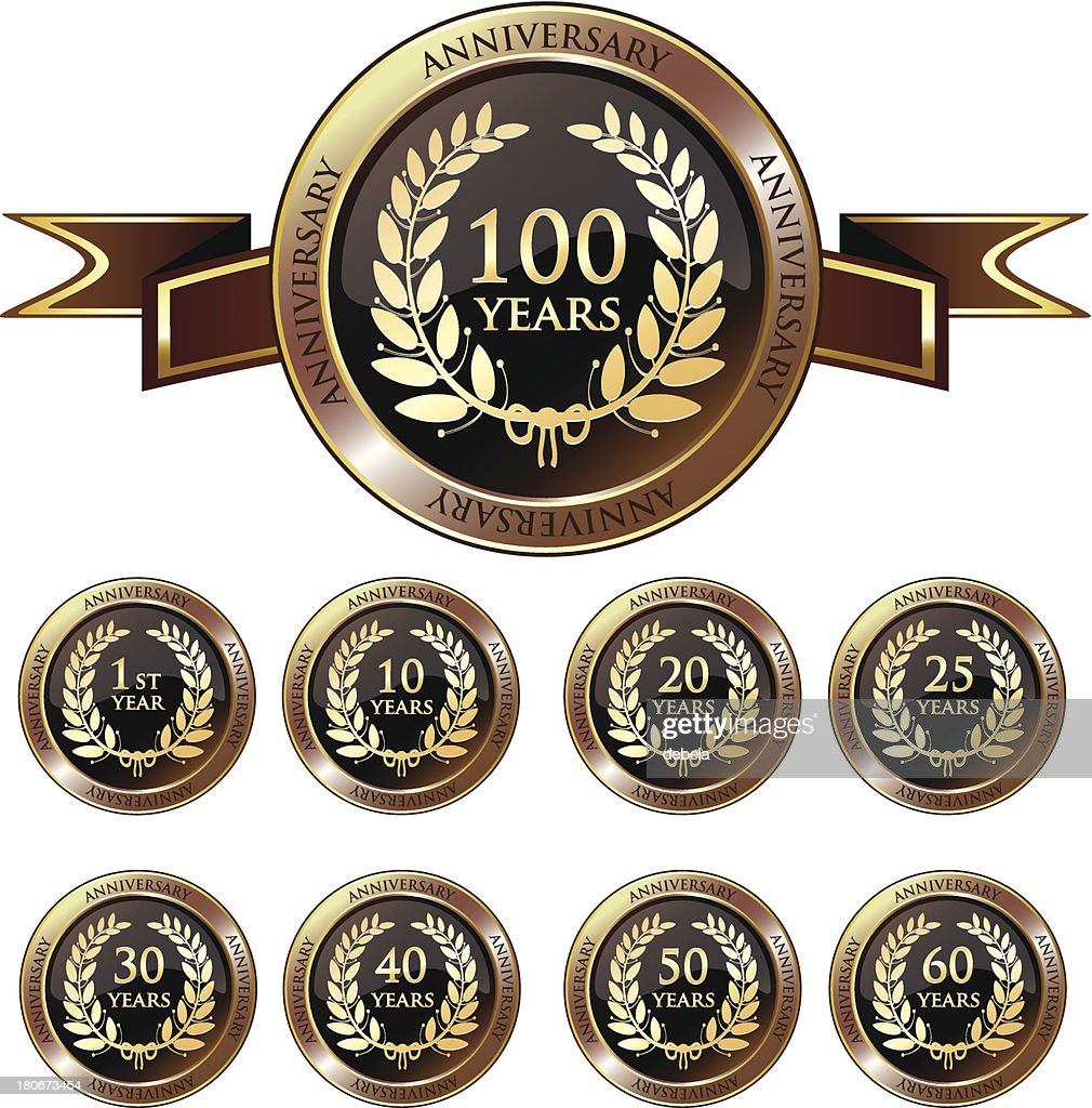 Anniversary Gold Badge Collection