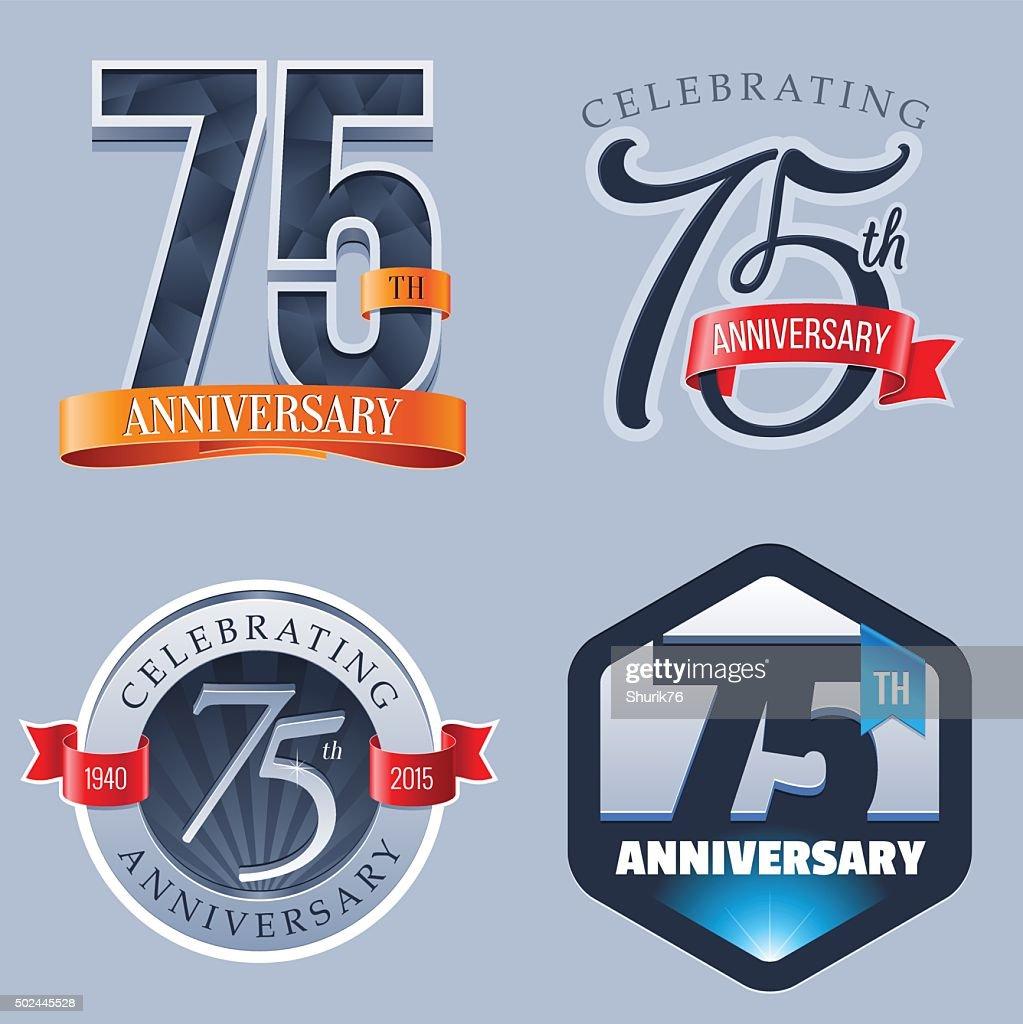 Anniversary Logo - 75 Years