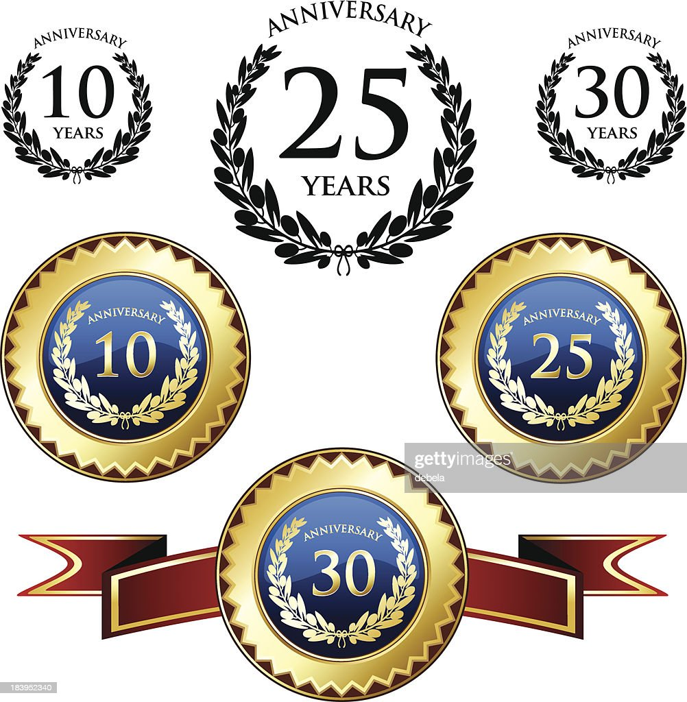Anniversary Medals And Seals