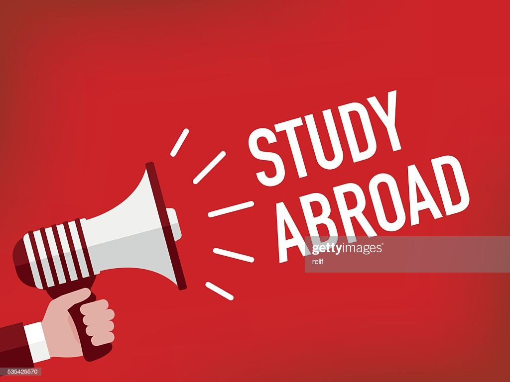 Announcement Concept: STUDY ABROAD