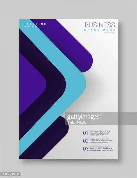 annual report brochure flyer design template vector, leaflet cover presentation abstract technology background - magazine cover stock illustrations