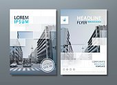 Annual report brochure flyer design template vector, Leaflet cover presentation, book cover.