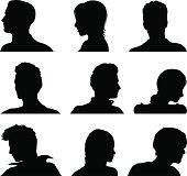 Anonymous avatar set