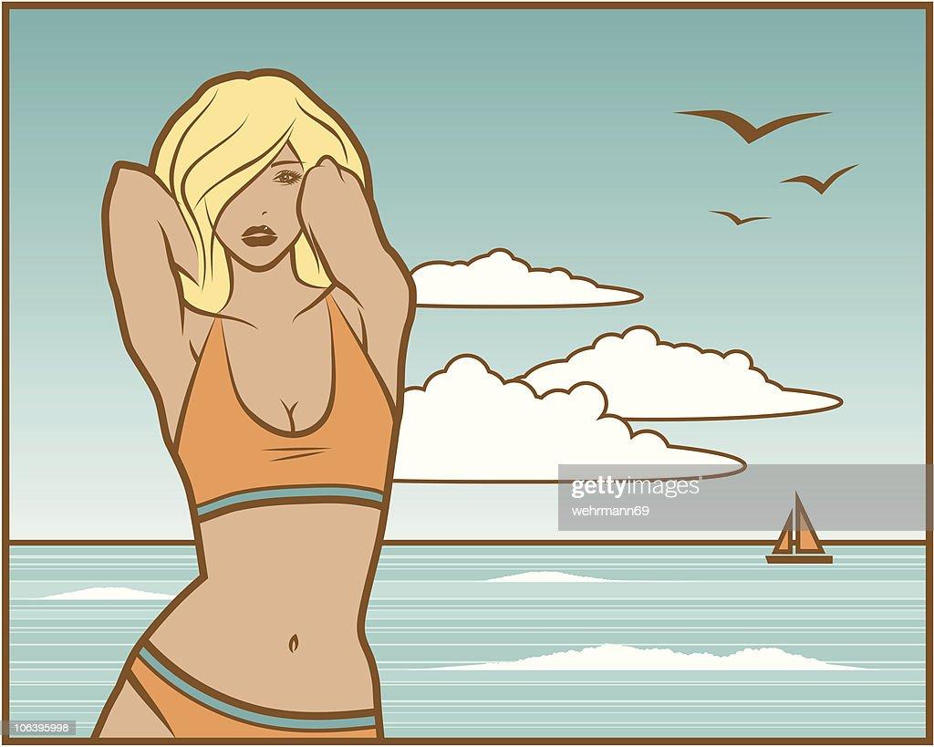 Another Beach Girl