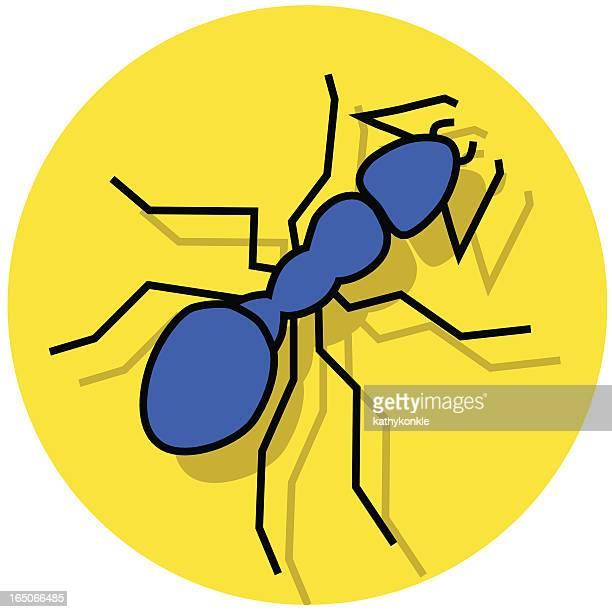 ilustraciones, imágenes clip art, dibujos animados e iconos de stock de hormiga - hormiga