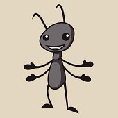 Ant Vector Illustration