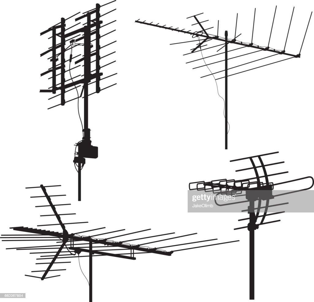 Antenna Silhouettes